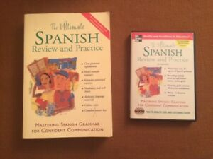 The Ultimate Spanish Review and Practice Book and 2 CDs
