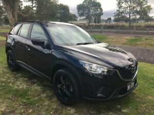 2013 Mazda CX-5 MY13 Upgrade Maxx (4x2) Black 6 Speed Automatic Wagon Mayfield East Newcastle Area Preview