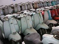 Lambrettas Vespas Wanted for a collector