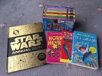 Enid Blyton x 8 , David Walliams, Tony Robinson's book and Horrid Henry Books + Star Wars Annual