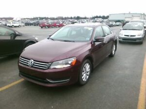 2014 Volkswagen Passat  Trendline automatic with Heated seats -