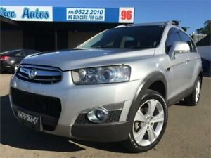 2012 Holden Captiva CG Series II 7 LX (4x4) Silver 6 Speed Automatic Wagon Blacktown Blacktown Area Preview