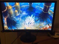"Massive 27"" HD LED backlit LCD gaming monitor. Incredible quality."