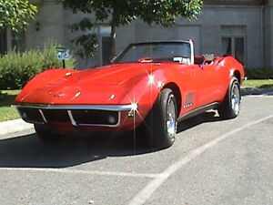 1968 corvette convertible numbers matching