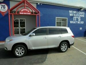 2013 Toyota Kluger GSU40R MY12 KX-R 2WD Silver 5 Speed Sports Automatic Wagon Welshpool Canning Area Preview