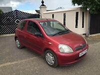 2003 Toyota Yaris 1.3 VVTi Red 2002MY Colour Collection
