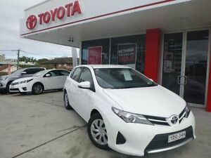 2015 Toyota Corolla ZRE182R Ascent Glacier White 7 Speed CVT Auto Sequential Hatchback Allawah Kogarah Area Preview