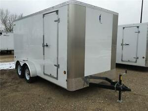New Southland/Royal Lightning 7x14 Tandem Enclosed Trailer