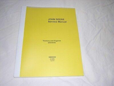 John Deere Tractors And Engines Manual - A B D G H R L