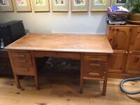 wooden teacher's desk. Free.