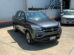 2018 Ssangyong Musso Q200 MY19 Ultimate Marble Grey 6 Speed Automatic Dual Cab Utility Hendra Brisbane North East Preview