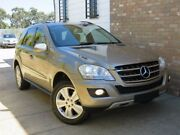 2008 Mercedes-Benz ML W164 08 Upgrade 280 CDI (4x4) Gold Dust 7 Speed Automatic G-Tronic Wagon Seaford Frankston Area Preview