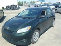 2011 TOYOTA MATRIX (MANUELLE, AIR CLIMATISÉ, CRUISE, WOW!!!)
