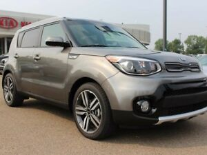 2018 Kia Soul EX PREMIUM; PANO ROOF, LEATHER, HEATED SEATS/WHEEL