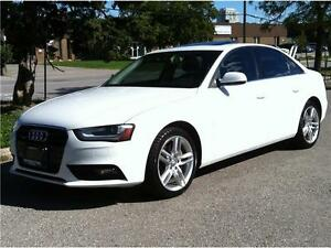 2013 AUDI A4 2.0T QUATTRO PREMIUM PLUS - NAV|PUSH.START|6 SPEED
