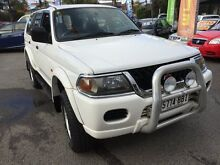 2002 Mitsubishi Challenger PA-MY03 (4x4) White 4 Speed Automatic 4x4 Wagon Hillcrest Port Adelaide Area Preview