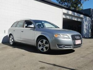 2005 Audi A4 B6 MY04.5 Avant Multitronic Silver 1 Speed Constant Variable Wagon Ashmore Gold Coast City Preview