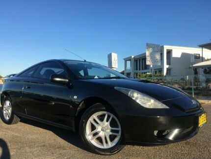 2003 Toyota Celica SX Black 6 Speed Manual Liftback Sylvania Sutherland Area Preview