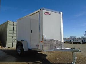 5x8 LIGHT WEIGHT NEO - EASY TO TOW - GREAT ALUMINUM TRAILER! London Ontario image 6