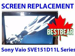 Screen Replacment for Sony Vaio SVE151D11L Series Laptop