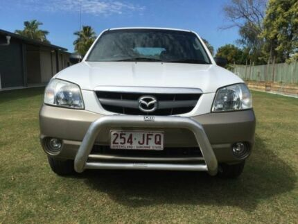 2001 Mazda Tribute Luxury White 4 Speed Automatic Wagon Caloundra Caloundra Area Preview