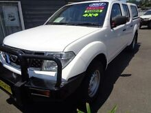 2011 Nissan Navara D40 ST (4x4) White 6 Speed Manual Dual Cab Pick-up Sandgate Newcastle Area Preview