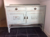 Sideboard shabby chic upcycled