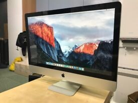 Apple iMac 27inch IPS Display - Solid State Drive Upgrade Latest OSX