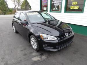 2015 Volkswagen Golf TDI w/ Leather only $179 bi-weekly all in!