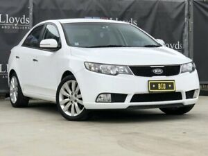 2011 Kia Cerato White Automatic 4-Door Sedan Carrara Gold Coast City Preview