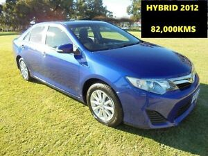 2012 Toyota Camry AVV50R Hybrid H Blue Continuous Variable Sedan Wangara Wanneroo Area Preview