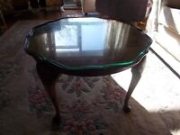 Charming circular antique coffee table