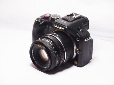 28mm= lens 50mm on Panasonic G lumix HD Micro Digital SLR PEN P1 P2 GX1 GH2 G3 5