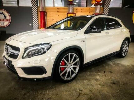 2016 Mercedes-AMG GLA 45 AMG 4MATIC X156 MY17 Calcite White 7 Speed Auto Dual Clutch Wagon Fyshwick South Canberra Preview