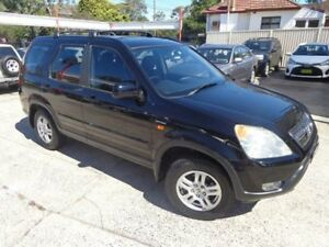 2003 Honda CR-V MY03 (4x4) Sport Black 5 Speed Manual Wagon Sylvania Sutherland Area Preview