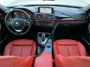 2015 BMW 328i SPORT RED LEATHER NAVI CAM MOON XDRIVE WARRANTY