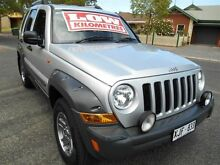 2006 Jeep Cherokee KJ MY05 Upgrade Renegade (4x4) Silver 4 Speed Automatic Wagon Nailsworth Prospect Area Preview