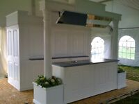 "Overhead Mirror & Kitchen counter booth ""RENTAL"""