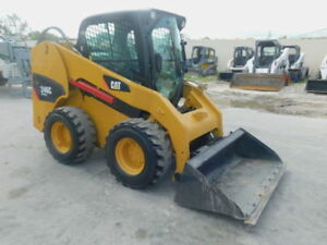 2013 Caterpillar 246C Skid Steer Loader. AC  HEAT and CAB!!!