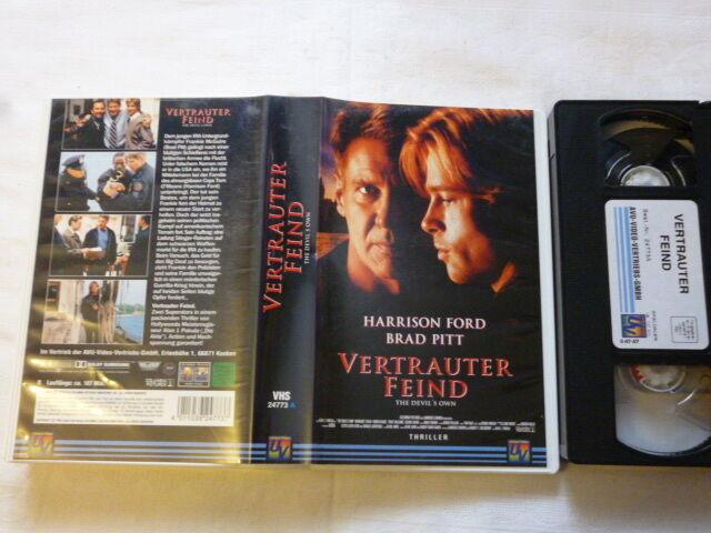 Vertrauter Feind  Thriller FSK frei ab 12 Jahre VHS gebr. Harrison Ford