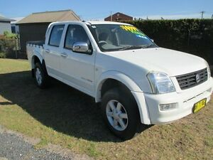 2005 Holden Rodeo RA MY05 LT Space Cab White 5 Speed Manual Utility Macksville Nambucca Area Preview