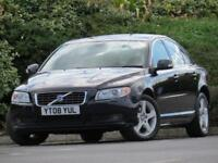 Volvo S80 2.4 D Geartronic 2008MY SE Lux SATNAV LEATHER CRUISE