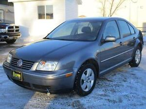2005 VOLKSWAGEN JETTA GLS, HEATED SEATS, SUNROOF, $4,450