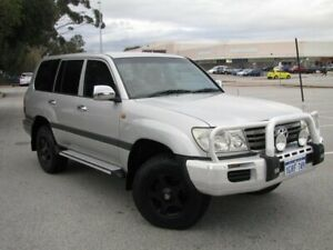2005 Toyota Landcruiser UZJ100R GXL Silver 5 Speed Automatic Wagon Maddington Gosnells Area Preview
