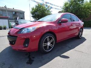 2012 MAZDA 3 GS-SKY (MANUELLE, MAGS, FULL, JAMAIS ACCIDENTÉ!!!)
