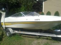 2003 17.5' Caravelle bowrider with Volvo 3.0 gl inboard engine