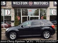 2010 Chevrolet Equinox 4CYL* FULLY LOADED* AMAZING SHAPE!