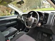 2013 Mitsubishi Outlander ZJ MY13 ES 4WD Grey 6 Speed Constant Variable Wagon Medindie Walkerville Area Preview