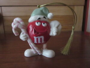 Lenox M & M Red Character Christmas Ornament Perfect in Box