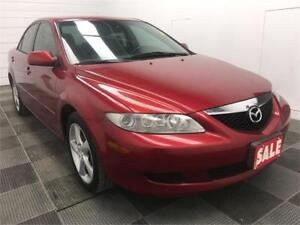 2004 Mazda Mazda6 GS Low Mileage! Clean Title!
